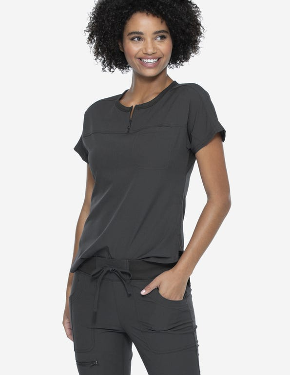 Round Neck Tuck-In Top
