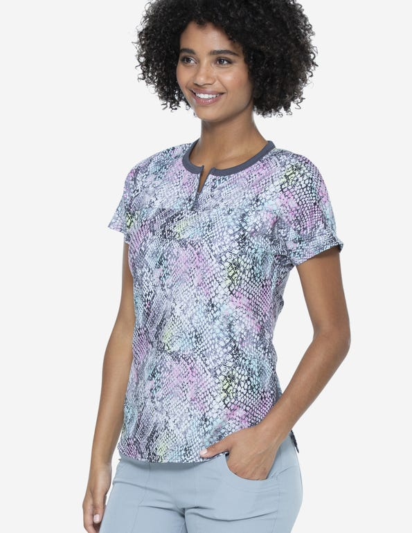 Sweet Hisses Round Neck Tuck-In Top