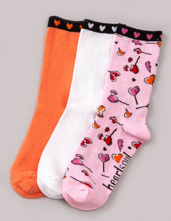 Heartbreak Crew Socks