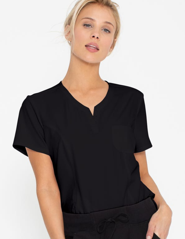 Shaped 26 inch V-Neck Top